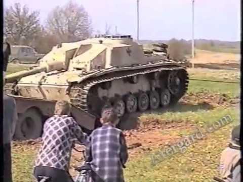 САУ StuG-40 найдена в Пскове