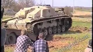 getlinkyoutube.com-Подъем немецкой САУ StuG-40