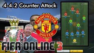 getlinkyoutube.com-4-4-2 ManU [Counter Attack]พลิกเกมรับเป็นเกมรุก Ranking 1-1 [New Engine]