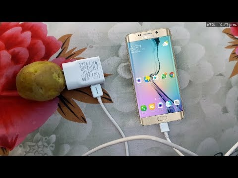 Can you charge your phone with a potato?