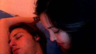 getlinkyoutube.com-This is real love! He kiss me while he is sleeping.