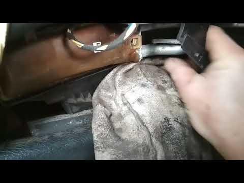 Замена радиатора печки БЕЗ СНЯТИЯ ПАНЕЛИ на Опель Омега Б