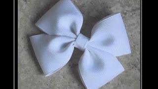 getlinkyoutube.com-How To Make A Flat Boutique Hair Bow (Pinwheel Hair Bow) Tutorial