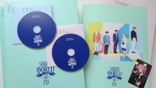 """getlinkyoutube.com-Unboxing SHINee's The 4th Concert Album """"SHINee WORLD IV: The 4th Stage"""""""