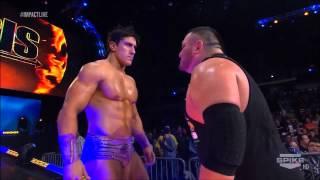 getlinkyoutube.com-Genesis 2014 :Sting vs Magnus for the World Heavyweight Championship