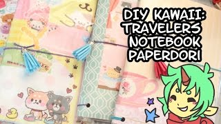 getlinkyoutube.com-DIY Kawaii: Travelers Notebook (Kawaiidori) Back to School Notebook!