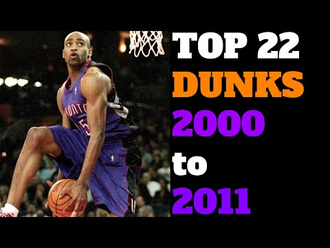 Top 22 NBA Slam Dunk Contest Dunks (2000-2011)