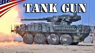 getlinkyoutube.com-M1128 Stryker Mobile Gun System 105mm Tank Gun Firing - M1128ストライカーMGS(機動砲システム) 105mm戦車砲発射