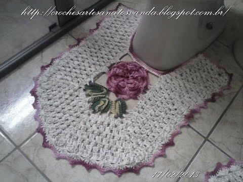 Tapete do vaso - Tapetes em crochês