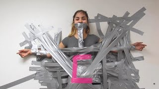 getlinkyoutube.com-Duct Tape Challenge! #2 (GONE WRONG)