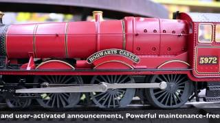 getlinkyoutube.com-Lionel #6-83620 Hogwarts LionChief RTR Set