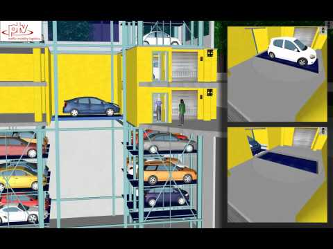 Automated Parking -- a VISSIM Simulation