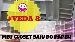 getlinkyoutube.com-VEDA 8 - DIY:  FAÇA VOCÊ MESMO CLOSET (LINDO!!)