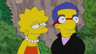 getlinkyoutube.com-Lisa and Milhouse Romance Evolution