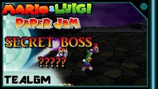 "getlinkyoutube.com-Mario & Luigi: Paper Jam - The Secret Boss: Boss Medley, Featuring ""???""!"