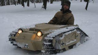 Goliath Tank Snow Romp