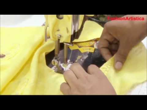How To Make Perfect Salwar Kameez Neck Design:Salvar Kameej Neck Making Tutorial