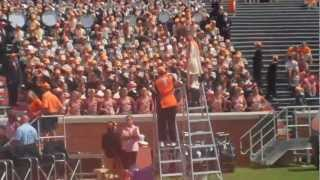 getlinkyoutube.com-University of Tennessee Marching Band strikes Rocky Top Up Close and Loud! 9/10/11