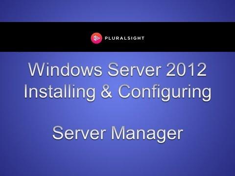 Windows Server 2012 Server Manager