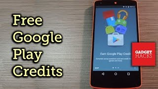 getlinkyoutube.com-Earn Google Play Credits on Android by Filling Out Surveys [How-To]