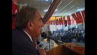 Alparslan Türkeş Erzincan'da