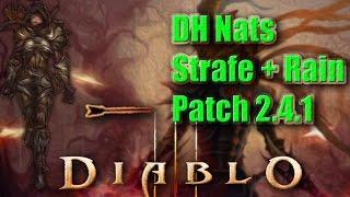 getlinkyoutube.com-Diablo 3 [PTR Patch 2.4.1] Demon Hunter►Natalya's Rain of Vengeance + Strafe