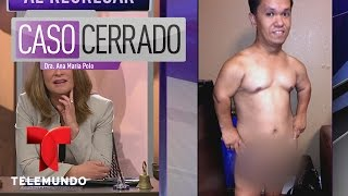 Enano Stripper: Mini Boy y embarazada viajando | Caso Cerrado | Entretenimiento
