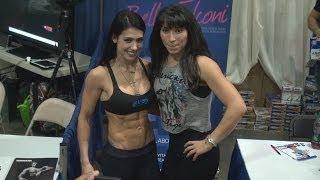 getlinkyoutube.com-Bella Falconi at 2014 Fit Expo Los Angeles