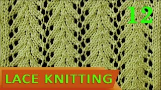 getlinkyoutube.com-Vine Lace Stitch - Easy!