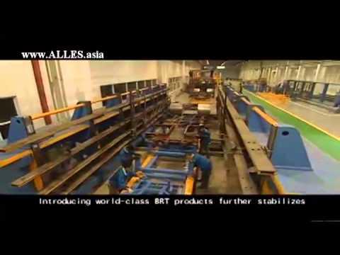Приёмка автобусов на заводе Huanghai. Alles Asia