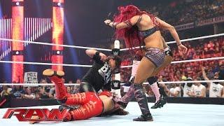 Team Bella vs. Team B.A.D.: Raw, Aug. 10, 2015