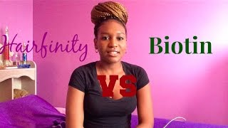 getlinkyoutube.com-Hairfinity and Biotin Review - My Experience