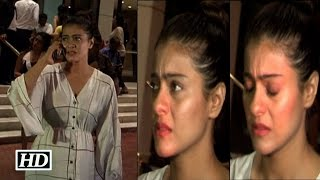 getlinkyoutube.com-Have you ever seen Kajol cry in Real Life ? Watch Here