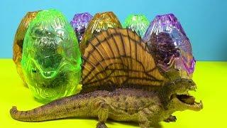 getlinkyoutube.com-Dinosaur Puzzle Surprise eggs, Dinosaurs! Dinosaur huevos Sorpresa.