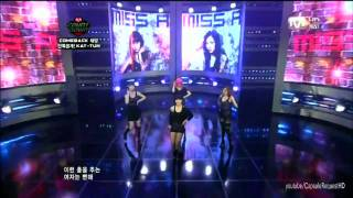 getlinkyoutube.com-miss A - Bad Girl Good Girl (Debut stage) - M Countdown