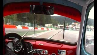 getlinkyoutube.com-Fiat Abarth 1000 TCR Spa Race Coppa Mille Kampf der Zwerge