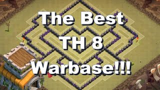 getlinkyoutube.com-TH8 WARBASE - Anti Dragon - Anti Hog - Anti GOWIPE - Anti EVERYTHING!!! + replays !!!