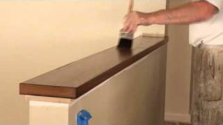 How To Apply Varnish or Polyurethane Clear Finishes - How To Stain Part 4