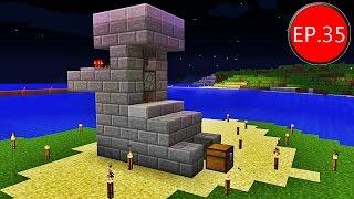 getlinkyoutube.com-TAEEXZENFIRE Minecraft (1.8.8) - Episode 35 - ฟาร์มไก่ดิบอัตโนมัติ Automatic Raw Chicken Farm