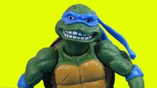 getlinkyoutube.com-Teenage Mutant Ninja Turtles  History Of Leonardo 30 years Of TMNT Leo Vs. Shredder Krang Dog pound
