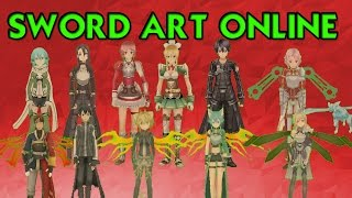GTA SA | Pack de skins SWORD ART ONLINE + ARMAS | HD