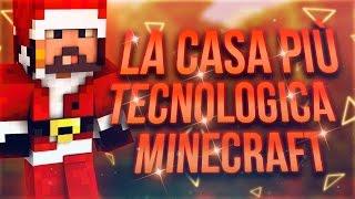 getlinkyoutube.com-LA CASA PIU' TECNOLOGICA DI MINECRAFT! (+30 Circuiti/Impianti Di Redstone!)