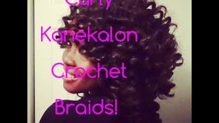 getlinkyoutube.com-Super Sexy Kanekalon Crochet Braids!