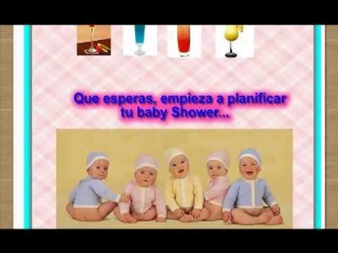 Descarga Todo Lo Que Necesitas Para Hacer Un BABY SHOWER AQUI