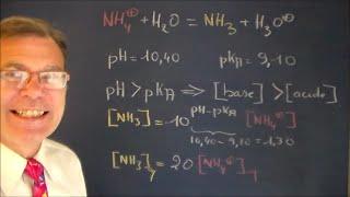 Réaction acido-basique et prédominance des espèces.