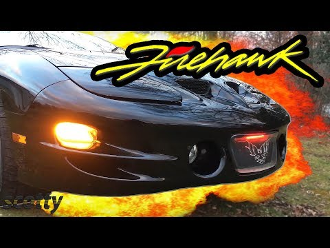 Pontiac Firebird Trans Am Firehawk Limited Edition - with Scotty Kilmer