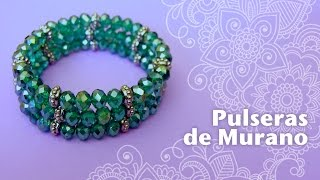 getlinkyoutube.com-Cómo hacer Pulseras Elásticas de Murano