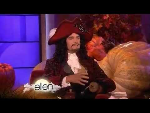Neil Patrick Harris on Ellen, Halloween, 2011