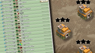 2017 TH7 WAR BASE *UPDATED* WIN WARS CLASH OF CLANS
