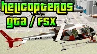 getlinkyoutube.com-GTA IV / FSX: Escolta de preso com o Águia PMESP e Resgate em incêndio